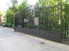 Fancy Manufacture Of Iron Driveway Gates and metal driveway gates nz