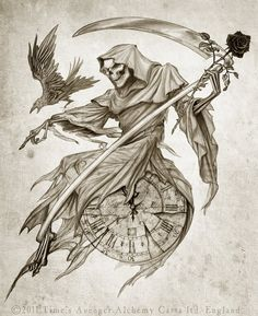 The rose is awesome, as is the giant clock. Death is coming in for a landing in your living room