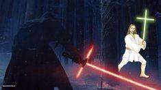 La fuerza vs. el poder de Dios. ¿Quién ganará? | 22 Chistes que solo los amantes de Star Wars entenderán
