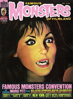 Monster Magazine Galleries: Famous Monsters of Filmland 122  Cover Art by Ken Kelly