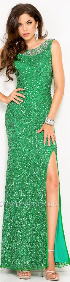 High Couture in Green: