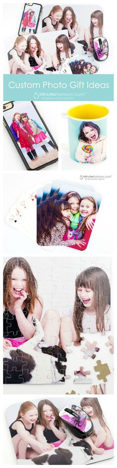 Custom Photo Gift Ideas - Creative and Fun Personalized Gifts