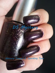 Glittery Fingers & Sparkling Toes: TIOT: OPI DS Mystery