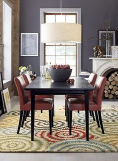 Protaractible Wooden Dining Tables For Small Spaces Red Leather Seats