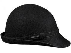 Urbaner No1, Merino Qualität, zeitloses Design mit Schild und kleiner Krempe, passendes Hutband