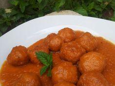 Receta Plato : Albóndigas en salsa por Cantalejo