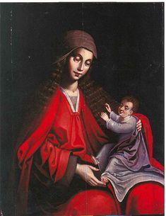 Ambrosius Benson - Madonna with Child - Palermo, Italia.