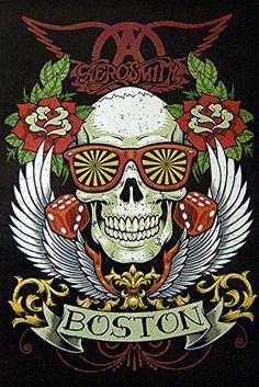 Aerosmith Logo Wallpaper Aerosmith Aerosmith Music Rock Music