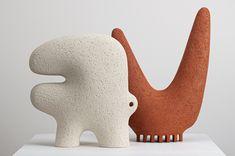 Ceramic Animals, Ceramic Birds, Ceramic Pottery, Pottery Art, Pottery Sculpture, Sculpture Clay, Ceramic Sculpture Figurative, Ceramic Store, Sculptures Céramiques