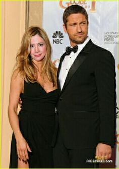 Mira Sorvino and Gerard Butler. My favorite actors. This picture was created by faceinhole app 2018