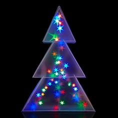 Buy John Lewis Indoor Holographic Christmas Tree Light, online a All Things Christmas, Christmas Lights, Christmas Fun, Xmas, Christmas Ornaments, Christmas Crackers, Tree Lighting, Twinkle Lights, Fairy Lights