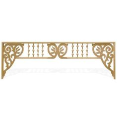 BALL/DOWEL FRETWORK SPANDREL-STATE LGTH *DS*
