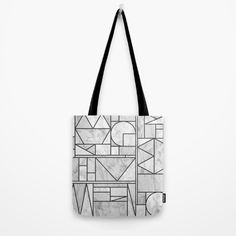 Kaku Stone Society6 Tote Bag by Fimbis  #marble #monochrome #blackandwhite #totebag #shopping #backtoschool Non Woven Bags, Luggage Bags, Monochrome, Marble, Reusable Tote Bags, Backpacks, Handbags, Black And White, Stone