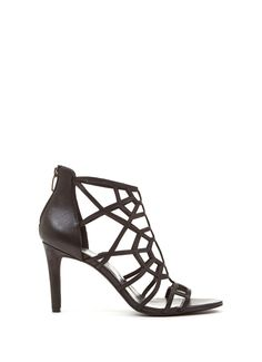 Black Georgie High Sandal