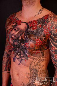 Incredible Tattoo by Yellow Blaze Tattoo