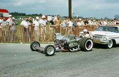 Vintage Drag Racing - Dragster...one of the most creative...dual side-by-side engines and dually slicks