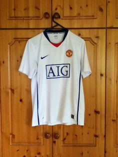 Manchester United Football Club Away Jersey 2008 to 2010 Medium Adult Nike 1950ca114