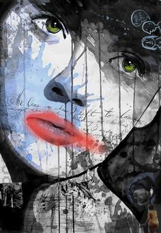 "Saatchi Art Artist Loui Jover; Collage, ""she came in when i left"" #art"