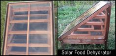 Solar Food Dehydrator - cool design!