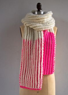 Color Dipped Scarves | Purl Soho