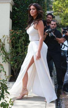 Kim Kardashian - Kim & Kris Attend Ciara's Baby Shower