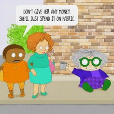 Quilt Humor - Selvage Blog
