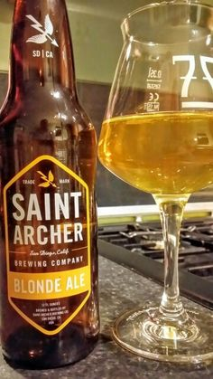 Saint Archer Blonde Ale. Watch the video beer review here…