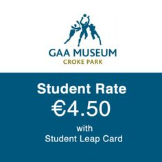 The National Student Travel & Discount Card. Croke Park, Student Travel, Discount Travel, Entertaining, Places, Cards, Map, Playing Cards, Lugares