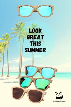 Sustainability, Looks Great, Eco Friendly, Shades, Sunglasses, Frame, Nature, Summer, Picture Frame