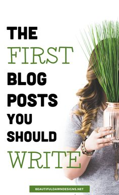 The First Blog You Should Write