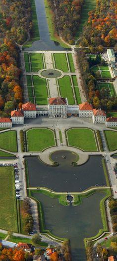 The Nymphenburg Palace ~ Munich, Bavaria, Germany. Be prepared to spend the day here. A small Versaille, and much less crowded