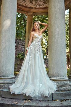 c3183be4743e Galia Lahav - Fall 2017 Lookbook - WedLuxe Magazine. Dream Wedding DressesFloral  ...