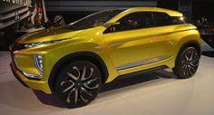 Mitsubishi eX Konzept feiert amerikanisches Debüt Vermeintlich Punkte zu Future Design Concepts Electric Vehicles LA Auto Show Mitsubishi Mitsubishi Concepts SUV