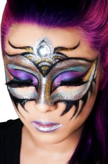 futuristic incredible makeup