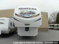 The 2013 Montana 3900FB offers the finest luxuries.  http://petesrv.com/2013_Montana_3900FB_Fifth_Wheel_Trailer_Keystone_RV/16310.html