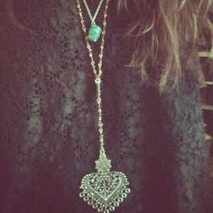 Double Layer Rosary style pic on Free People