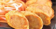 CHICKEN EGG ROLL   Bahan A:   300 gr daging ayam cincang kasar  50 gr lemak ayam poting2 kecil   Bahan B:   1 st ang ciu/ sake  1 st keca...