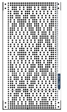 66 Best Punchcard Design Images In 2014 Filet Crochet Knit