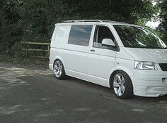 Done a trawl through the threads but would appreciate any pics of your with the claw type 19 wheels fitted. Vw Bus, Vw Transporter Van, Vw T5 Forum, T5 Camper, Camper Van Conversion Diy, Audi, Vans, California, Camping