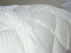 Royal Hotel Collection FULL Size White Goose Down Comforter 300 thread count 650 fill power by sheetsnthings. $139.99. Features an extremely soft touch and outstanding durability. Features 100% Egyptian cotton, 300 thread-count cover Sateen Striped. 650 Fill Power with Box stitch construction keeps fill evenly distributed. Sleep in luxurious comfort with this Goose Down comforter Full/Queen size 90X90 inches. 36 oz goose down filling, Hypo-allergenic, Allergy Fr...