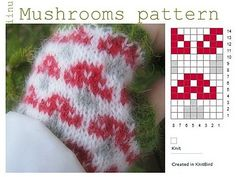 Ravelry: Project Gallery for patterns from Little Cotton Rabbits Knitting Charts, Knitting Stitches, Knitting Designs, Knitting Patterns Free, Knitting Projects, Mittens Pattern, Knit Mittens, Knitting Socks, Baby Knitting
