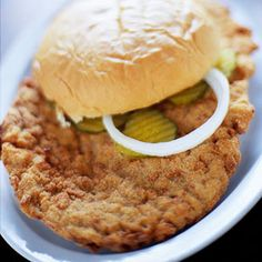 Pork Tenderloin Sandwiches