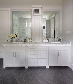 Forest Hills Modern Farmhouse - transitional - Bathroom - Dallas - Lilli Design