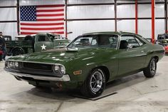 1970 Dodge Challenger Coupe I got to drive one of these in high school... oh yeah I was too cool and hard as hell to catch! I want it back in my garage now!