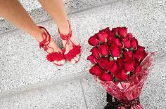 HelloFashionBlog: Red Fringe Heels