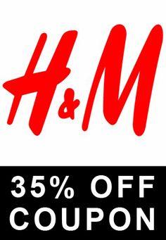 35 PERCENT OFF H & M COUPON AT LIKEACOUPON.COM