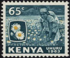 Uhuru Stamp 65c 1963