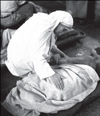 """Was Mother Teresa's Work """"Catholic""""? ~ Not according to the  HHS Mandate. It exempts """"religious"""" organizations only if they meet four criteria .... Under this narrow definition, the work of the Missionaries of Charity – and most Catholic institutions – would not qualify as """"religious,"""" because Catholic charities have always provided their services to anyone – regardless of faith or lack of faith – that finds themselves in need."""