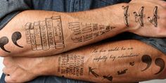 Temporary Tattoos for Book lovers