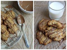 Cookies, Kekse, Backen, Crispy Cookies, Cornflakes, Schokolade
